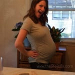 My pregnancy with Alice at a glance- The Third Trimester.