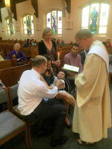A's baptism | The Life Jolie