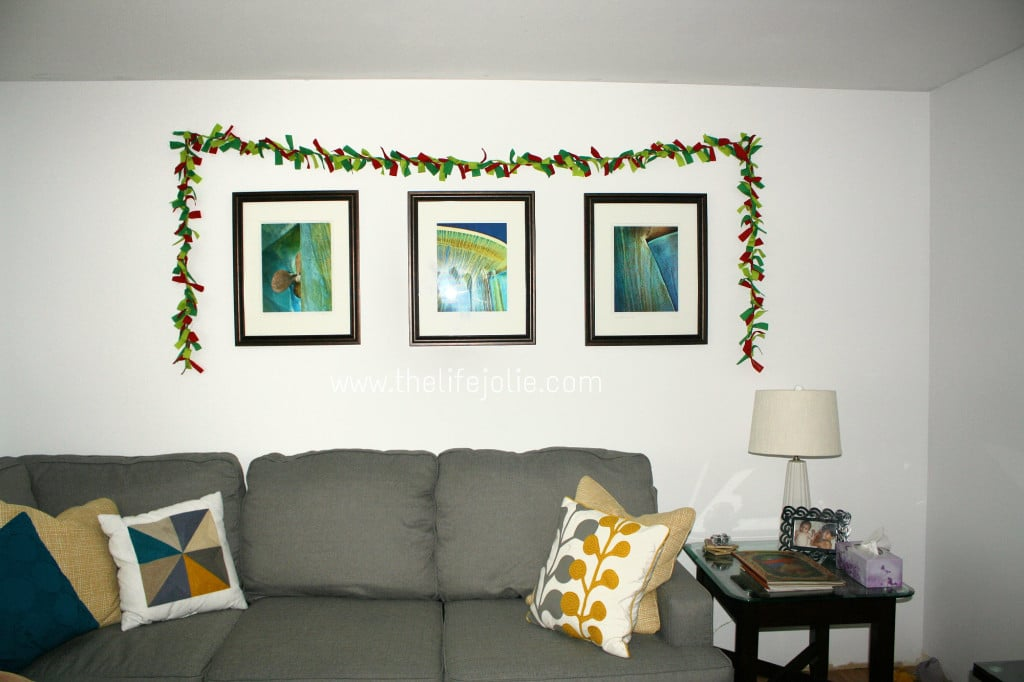 Cheap and Easy DIY Fabric Garland|The Life Jolie