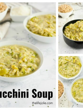 Zucchini Soup | The Life Jolie