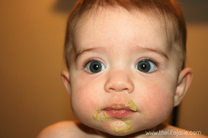 Starting Solids | The Life Jolie