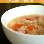 Aunt Jeanne's Cabbage Soup