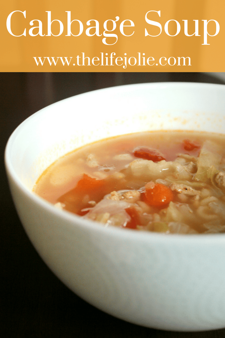 Cabbage Soup | The Life Jolie