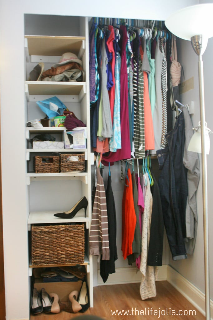 Master Bedroom Built In Closet Plans | The Life Jolie