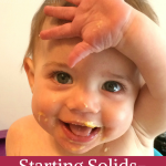 Starting Solids- Week 11 Progress | The Life Jolie
