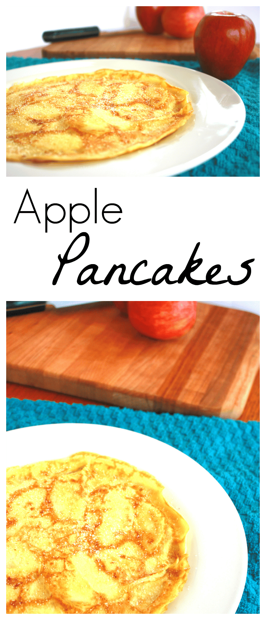 This recipe is a family favorite- my Great Grandma's Apple Pancakes are such an amazing, subtly-sweet breakfast option. You cannot eat just one!