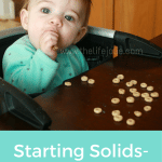 Starting Solids- Week 15 Progress