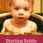 Starting Solids- Week 12 Progress