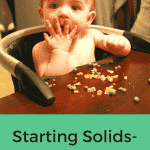 Starting Solids- Week 14 Progress