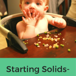 Starting Solids-Week 14 Progress