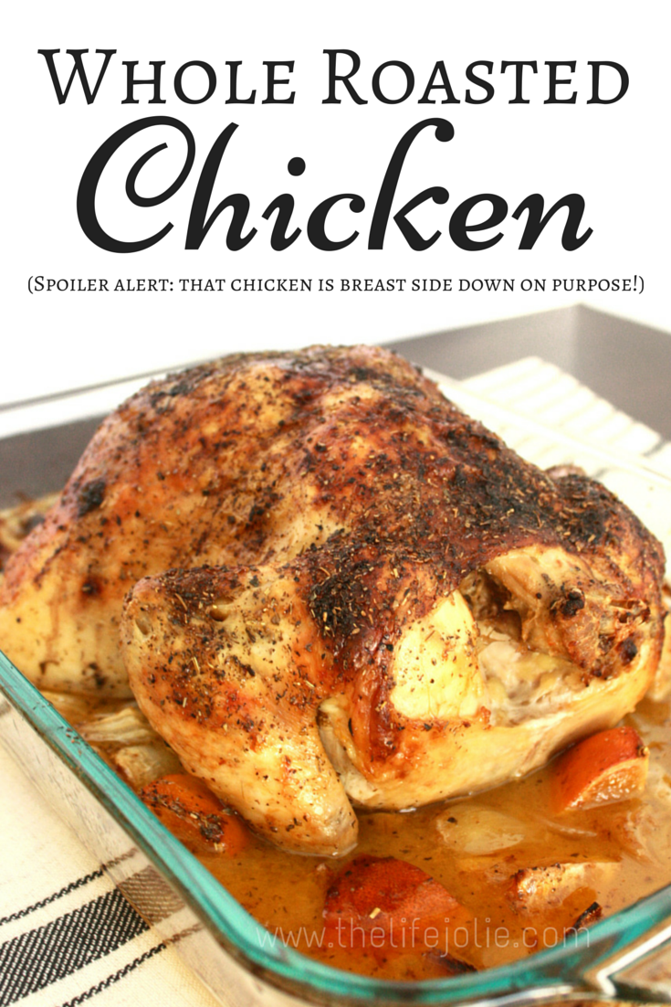 80895e36607c This is the most simple delicious whole roast chicken recipe- there is no  extra