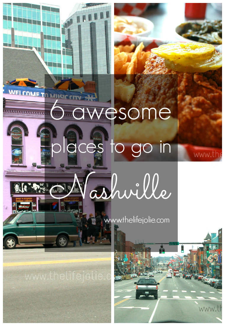 Nashville is such a great city! Here is a list of 6 awesome places to go in Nashville. I can't wait to go back.