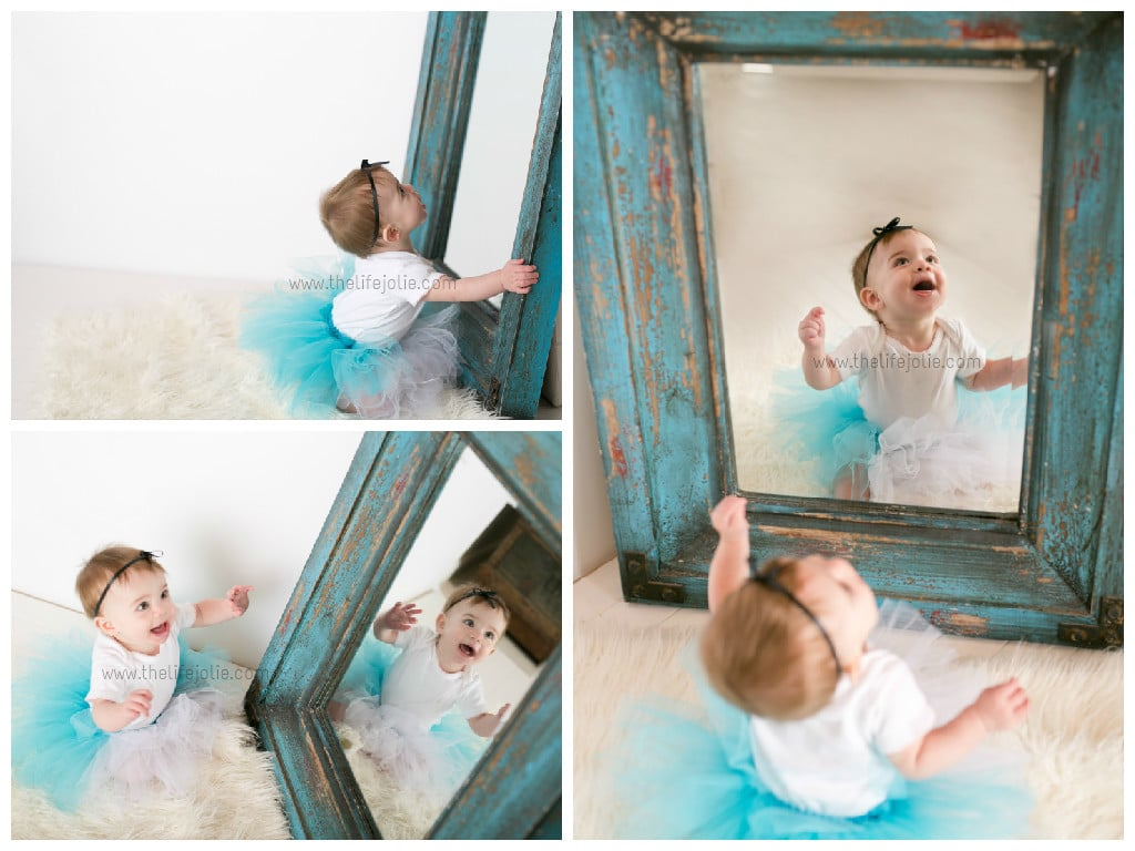 Alice's super cute 8 month photo shoot with Chelse of EIEIO Photography, a Rochester, NY Photographer. This includes some super cute Alice in Wonderland shots!