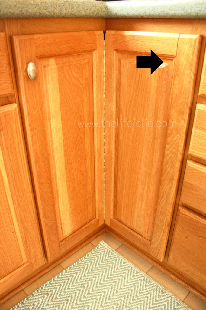 Fixing A Cracked Cabinet Door