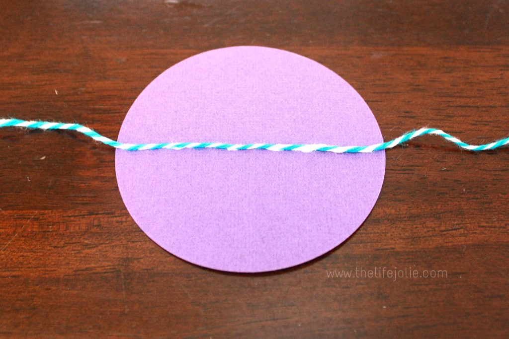 This tutorial shows you how to make the sweetest DIY Dot Garland- perfect for any special party or event, or even just for decorating your home. It's quick, easy, cost-efficient and so darn cute!