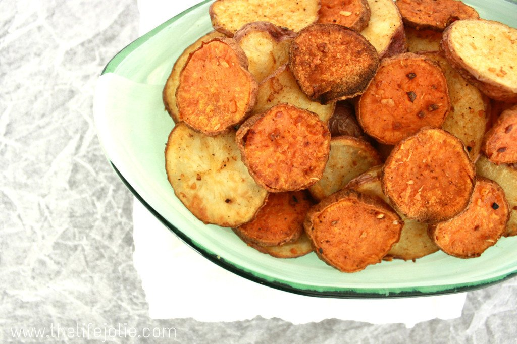 These Quick and Easy Roasted Potatoes are the perfect weeknight side dish- they are ready in less than 30 minutes and there are so many different routes you can take with the seasonings. They are just delicious!