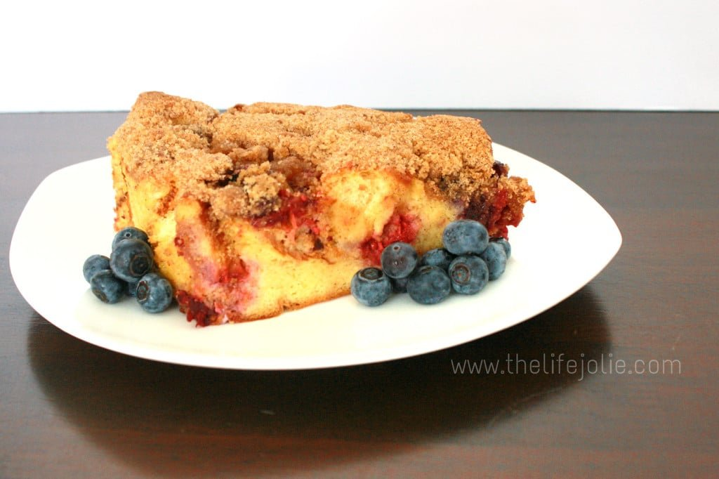 This Baked French Toast with Mixed Berries is the perfect brunch recipe for entertaining. It's super easy to make and the brightness of the berries and crunch of the streusel topping make a delicious breakfast casserole that is certain to please. Click on the photo to read more.