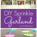 DIY Dot Garland