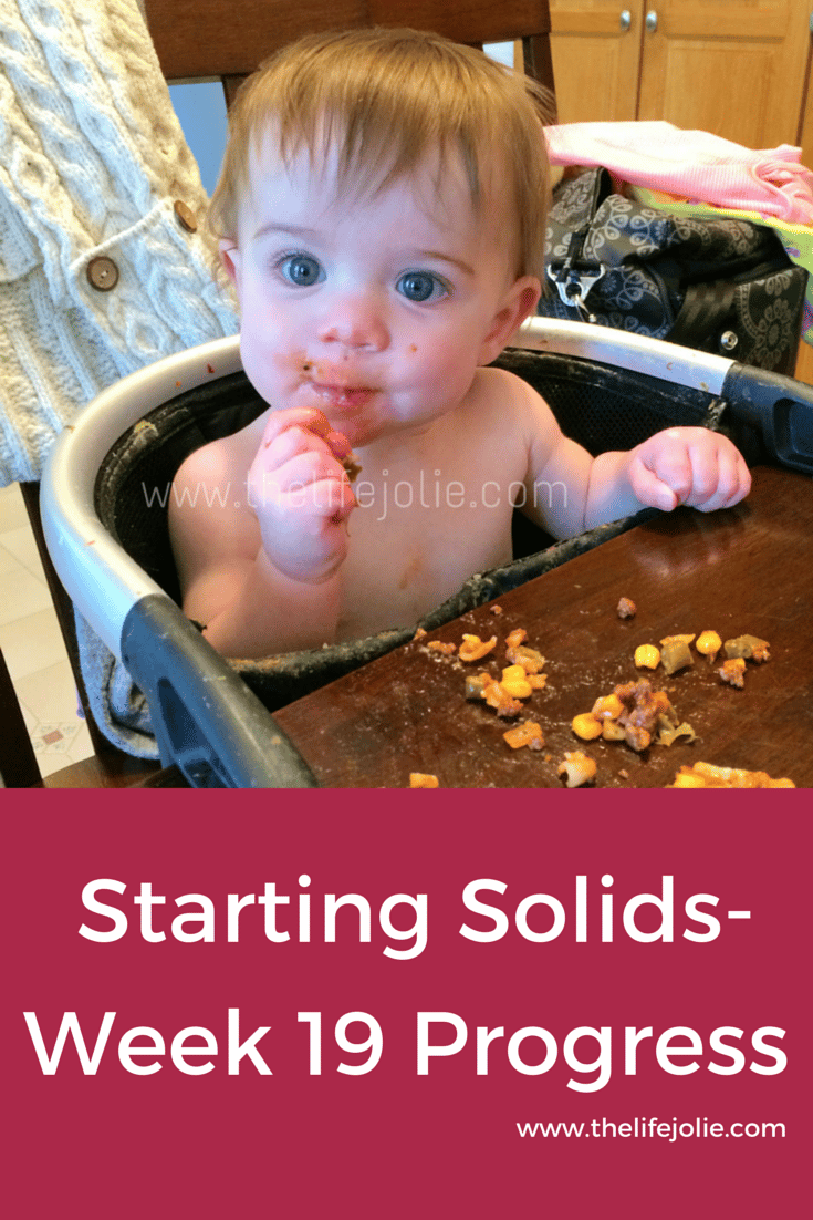 The process of starting solids by introducing real foods, not the typical items that people think babies should eat (bland items!)