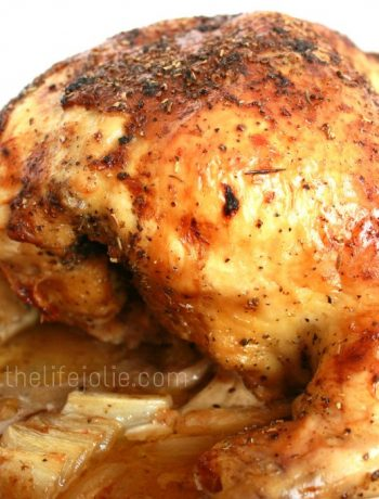Whole Roasted Chicken Recipe | The Life Jolie