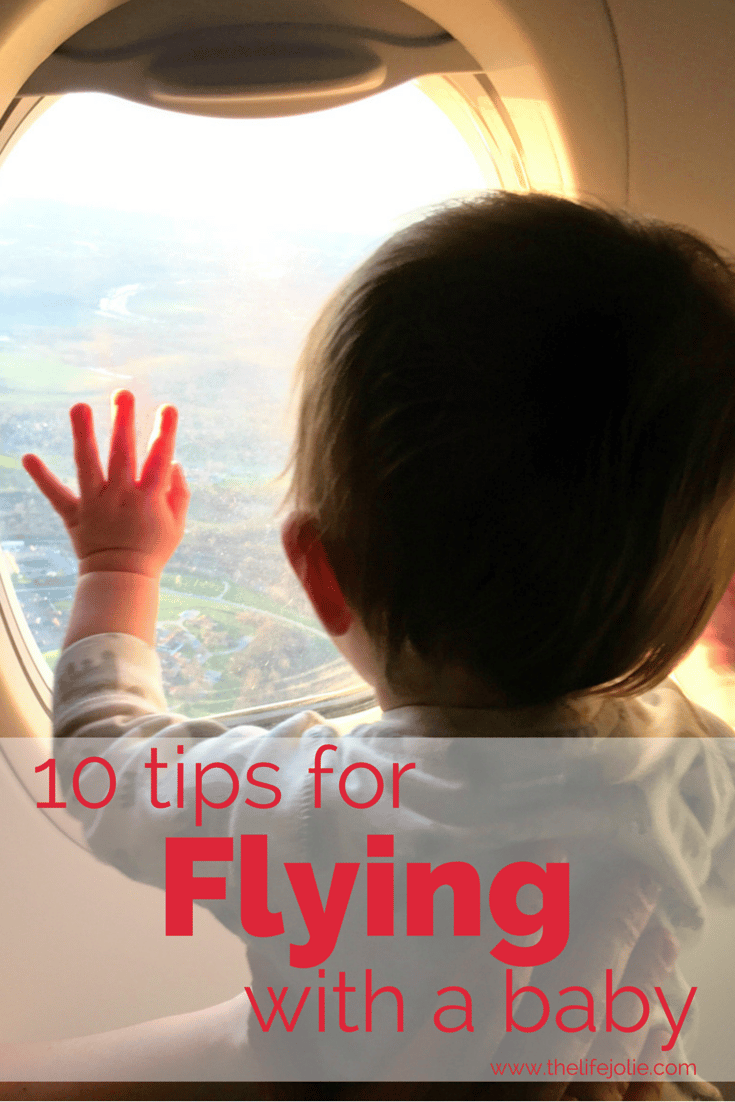 Here are 10 tips for flying with a baby- these tips were super helpful for flying with our 9 month old! A definite must-read! Click on the photo to read...