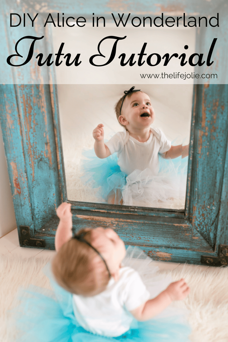 This super easy, no-sew DIY Alice in Wonderland Tutu is so cute! It's a quick and easy, inexpensive project, that is totally customizable for your child's size and character of choice. Click on the photo to read more at The Life Jolie...