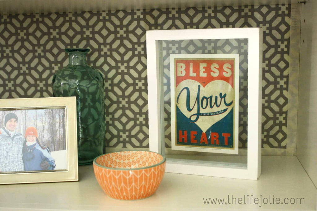 DIY Postcard Art is the perfect way to have beautiful framed artwork for much less money. It's super quick and easy to put together.