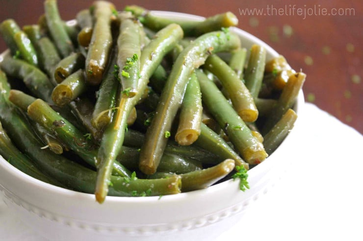 This Green Bean Salad is extremely easy to make and super delicious. This is the perfect simple summer salad for a quiet dinner or a group. Click on the photo to read more...