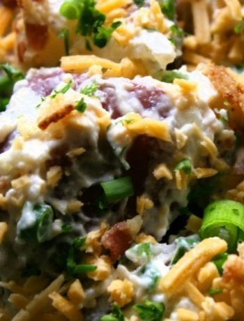 Loaded Baked Potato Salad | The Life Jolie
