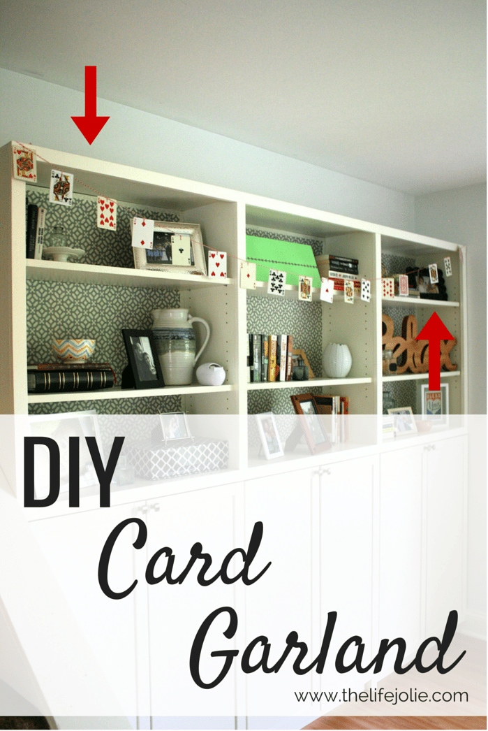 Diy Card Garland