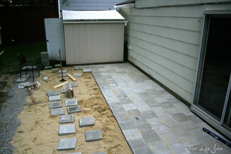 This DIY Paver Patio was actually a much more manageable project than we expected. Here is what we learned from doing this to make it easier for you. We LOVE the results! Click on the photo to read more...