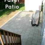 DIY Paver Patio