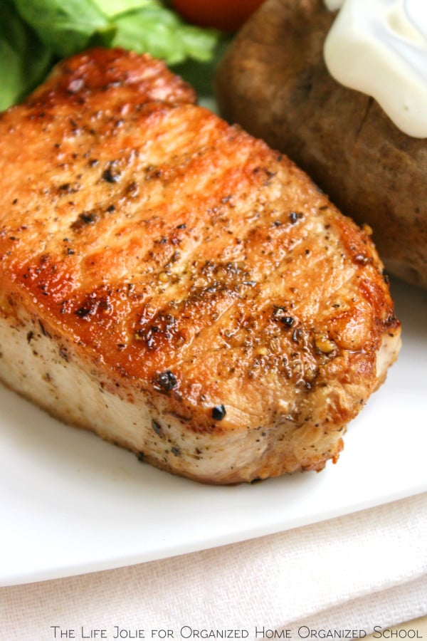 Herb Roasted Pork Chops | The Life Jolie