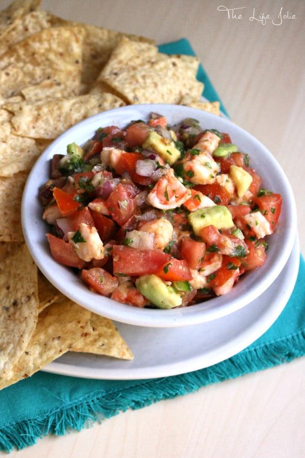 This Shrimp Salsa is a copycat versions of Bubba Gump Shrimp Company's ...
