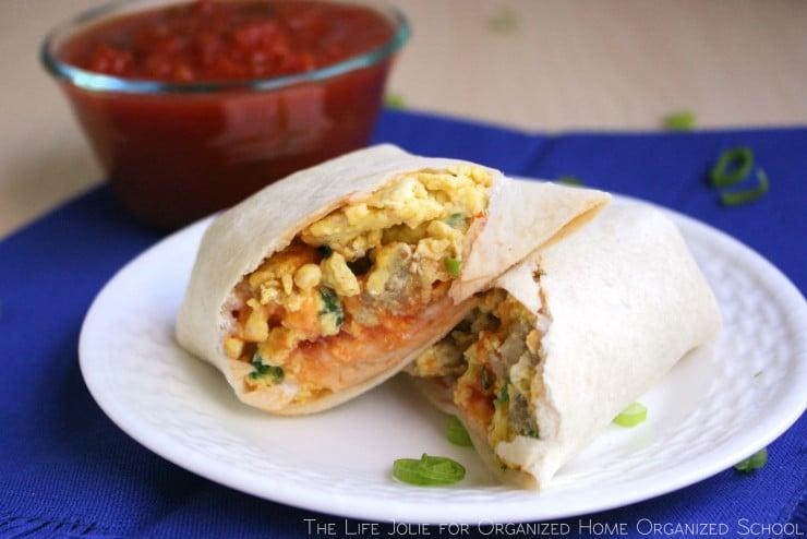 Freezer Friendly Breakfast Burritos | The Life Jolie