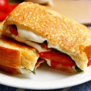 Caprese Grilled Cheese | The Life Jolie