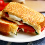 New post at OHOS: Caprese Grilled Cheese