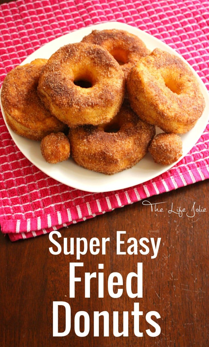 These Super Easy Fried Donuts are so delicious- I couldn't believe how quickly they were done. My family loved them! Click on the photo to read more...