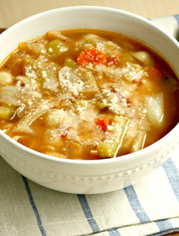 This Minestrone Soup is a quick and easy recipe. You can take it in whatever direction you want and change up the vegetables to make it your own. Click on the photo to read more...