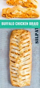 This Buffalo Chicken Braid recipe is a proven crowd-pleaser! It's super easy to make and full of spicy buffalo flavor. Make this for game day and your family will fight for seconds!