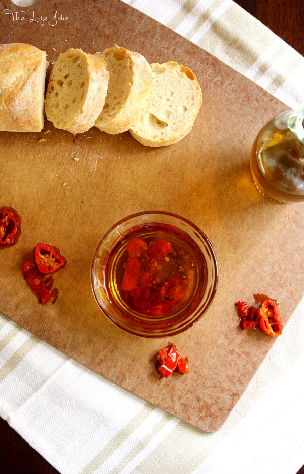 Hot Pepper Oil is such an easy condiment to make, and boy does it pack some punch! If you like spicy foods you have to make this!!
