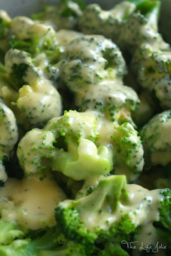 This cheese sauce is such a delicious addition to any meal and very kid-friendly. It's perfect over vegetables like broccoli and cauliflower and is super quick to make!