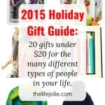 2015 Holiday Gift Guide: 20 Gift Ideas for Under $20