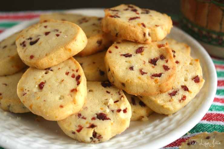 These Slice-and-Bake Cookies could not be easier to make- they are sucha delicious addition to any holiday cookie platter and freeze so well!
