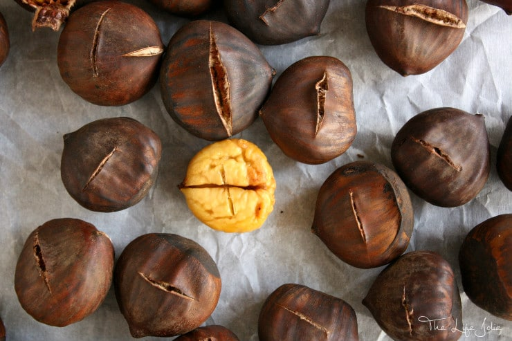 Roasting Chestnuts is not as hard as it seems- it's actually pretty simple. THis tutorial has some simple directions for how to roast Chestnuts!