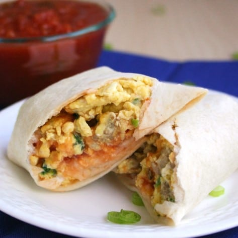 Freezer Friendly Breakfast Burritos The Life Jolie Share The Life