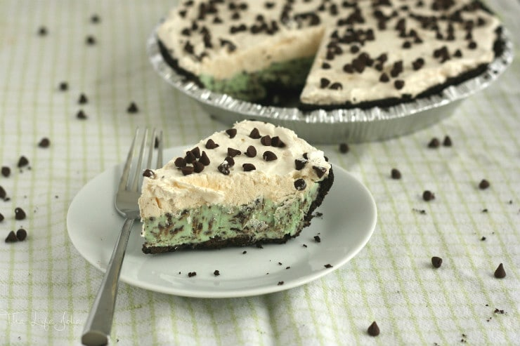 This Peppermint Ice Cream Pie recipe is super easy to make. It features a delicious Oreo crust, your favorite mint chocolate chip ice cream and whipped cream. The work for you is minimal and the response is always fantastic!