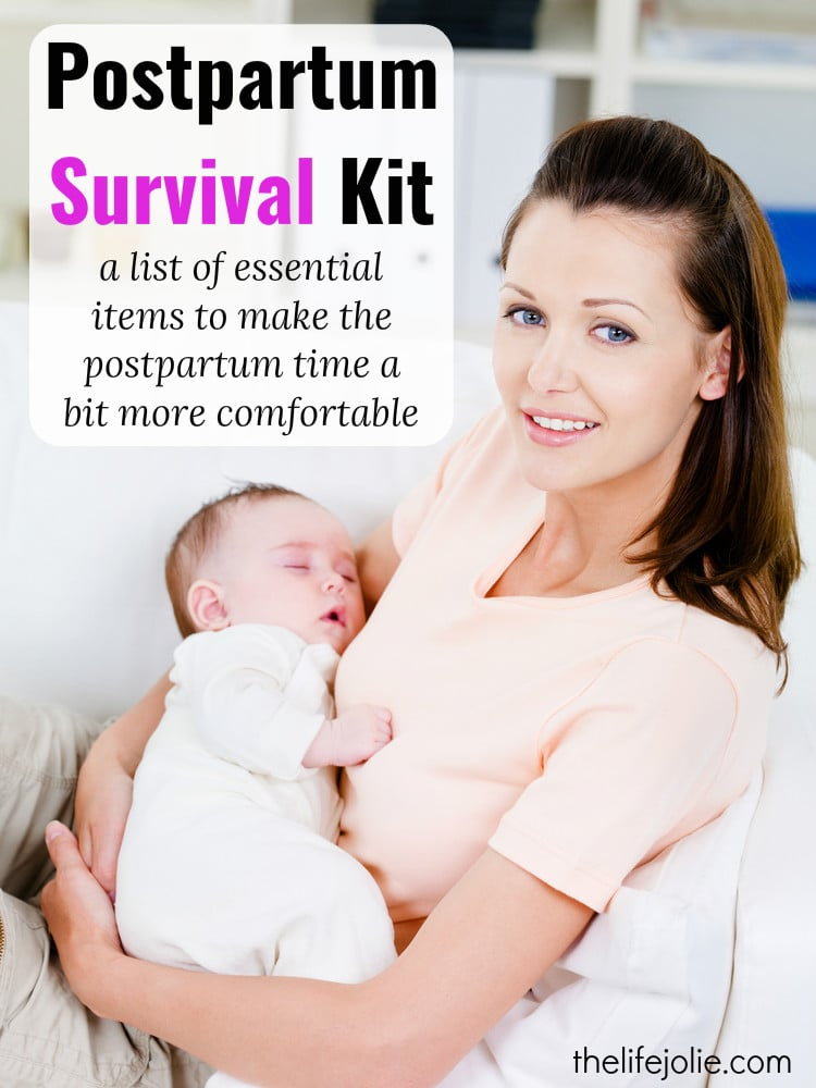 This Postpartum Survival Kit is a list of essential products to make postpartum care and recovery a bit more manageable for mom along with some tips to use them.