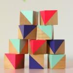 DIY Painted Blocks