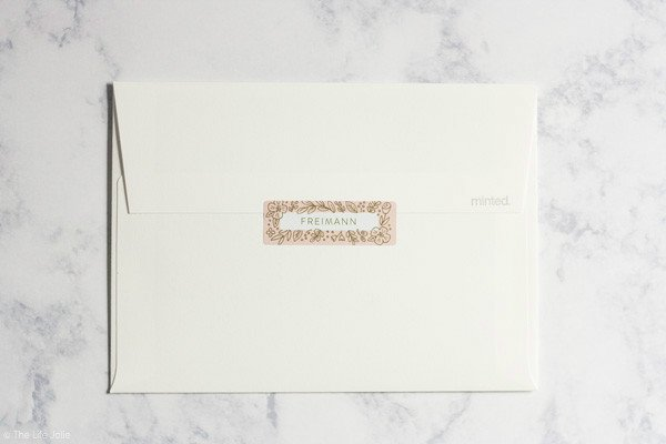 Tessa's Birth Announcements from Minted + a sweet giveaway for you! | The Life Jolie